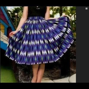 Dresses & Skirts - Harlequin skirt by Pinup girl clothing